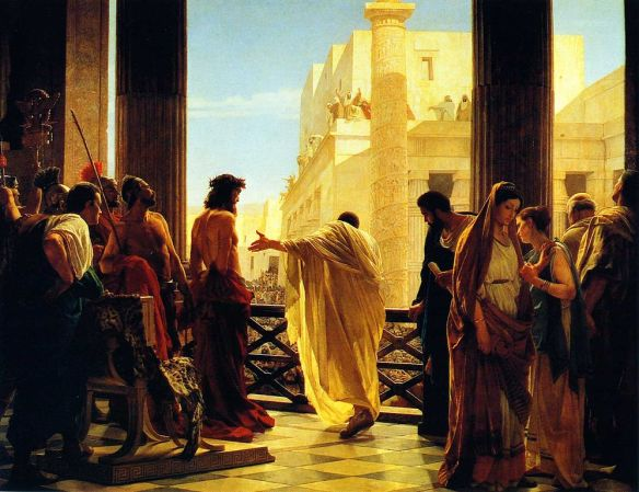 Ecce homo! (Behold the man!), by Antonio Ciseri, 1871