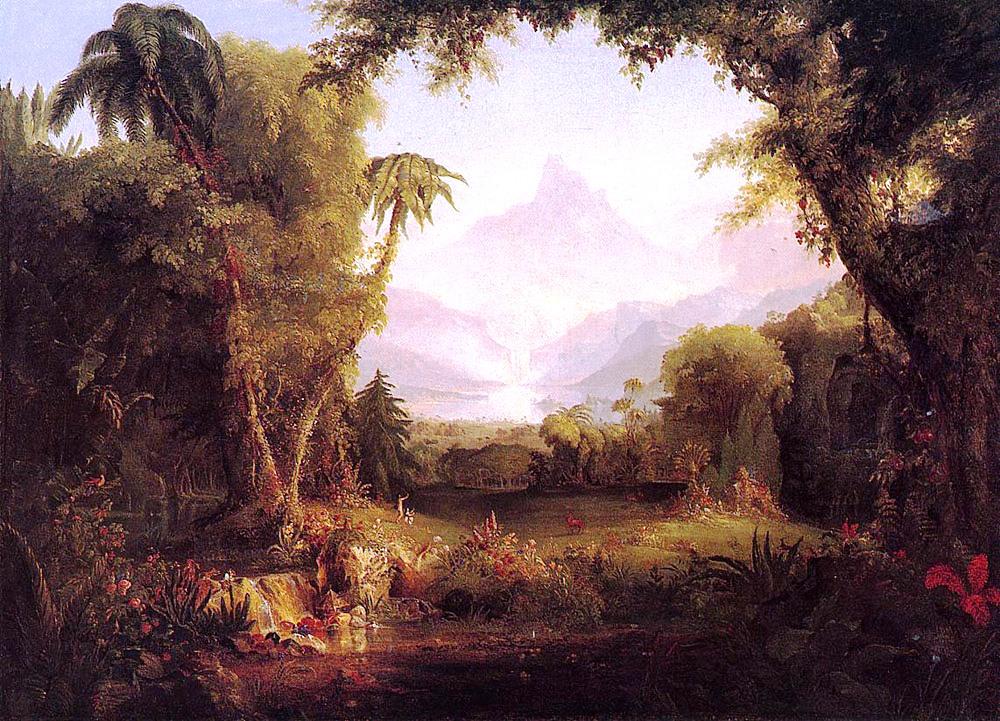 The Garden of Eden, Thomas Cole