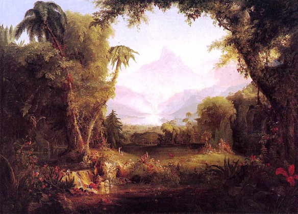 The Garden of Eden, Thomas Cole