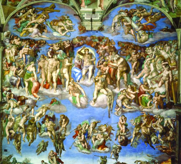 Last Judgment, Michelangelo Buonarroti