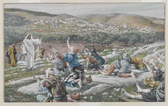 The Healing of the Ten Lepers, Tissot