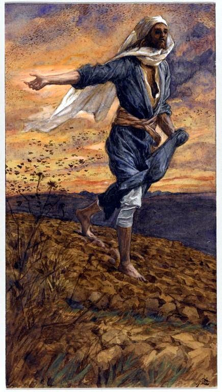 The Sower - Tissot