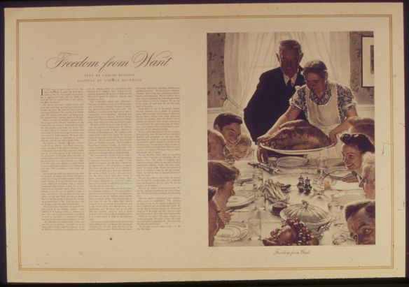 Freedom From Want - Rockwell