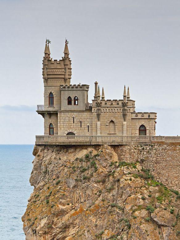 The Swallow's Nest Castle near Gaspra