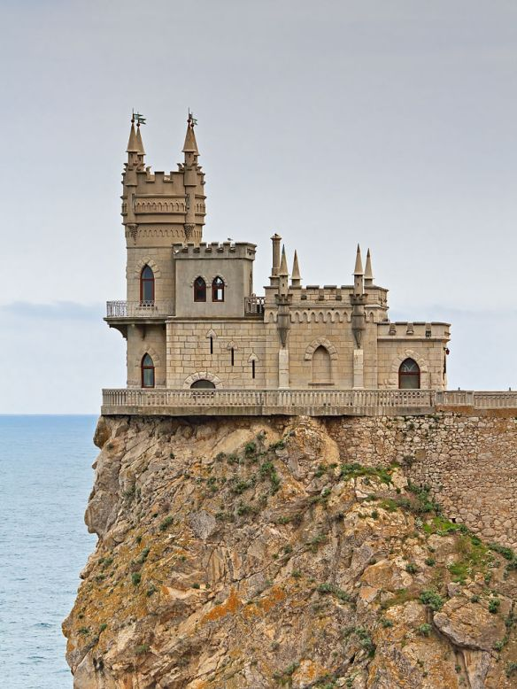 The Swallow's Nest Castle near Gaspra