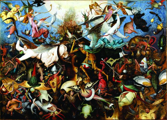 Fall of Rebel Angels - Brueghel