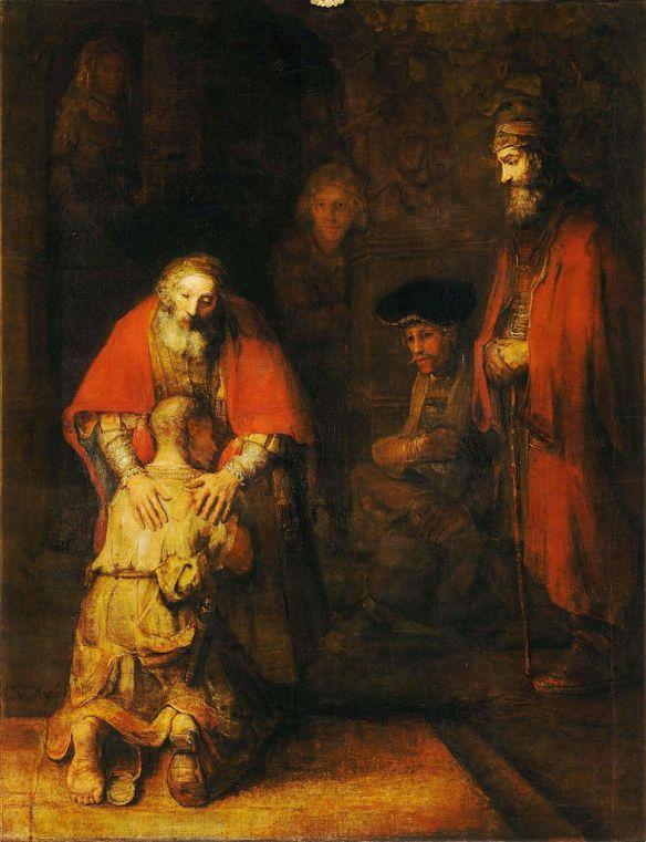 Prodigal Son, Rembrandt