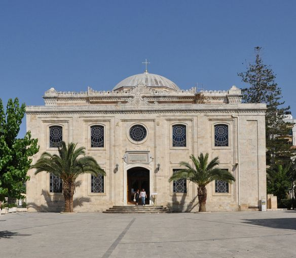 Heraklion (Crete, Greece): basilica of St Titus