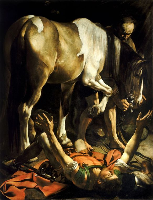 The Conversion of Paul - Caravaggio