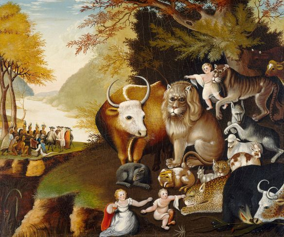 Peaceable Kingdom - E. Hicks