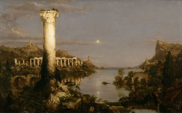 """""""Desolation"""" from """"The Course of Empire"""" by Thomas Cole, 1836, Public Domain"""